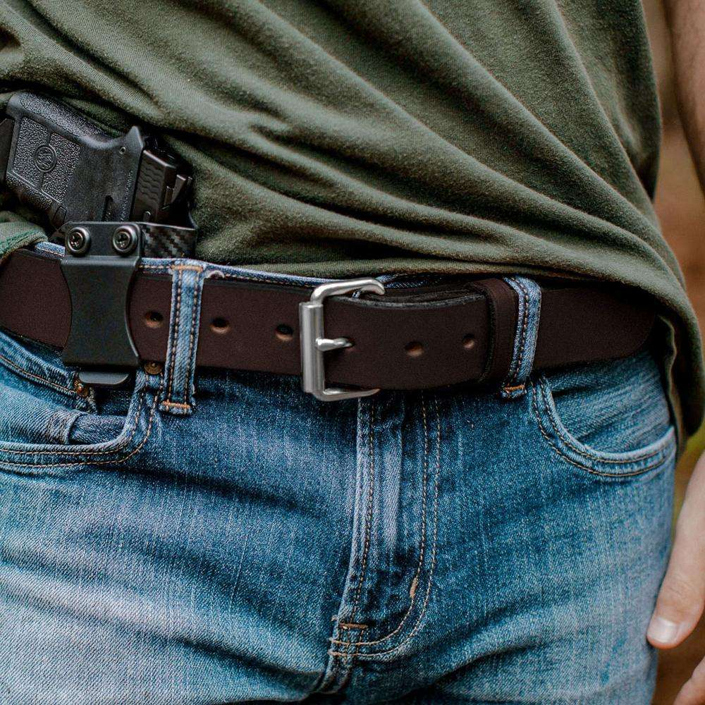 Hanks Gunner Belt - Hanks USA Made CCW Gun Belts - Brown