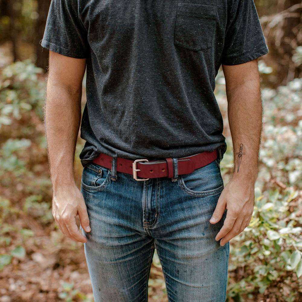 Hanks Gunner Belt - Hanks USA Made CCW Gun Belts - Chestnut