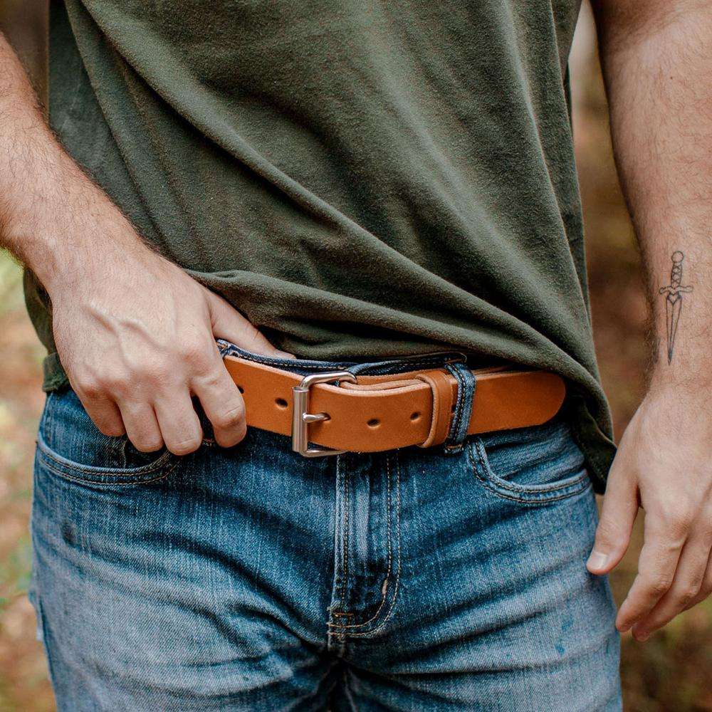 Hanks Gunner Belt - Hanks USA Made CCW Gun Belts - Natural