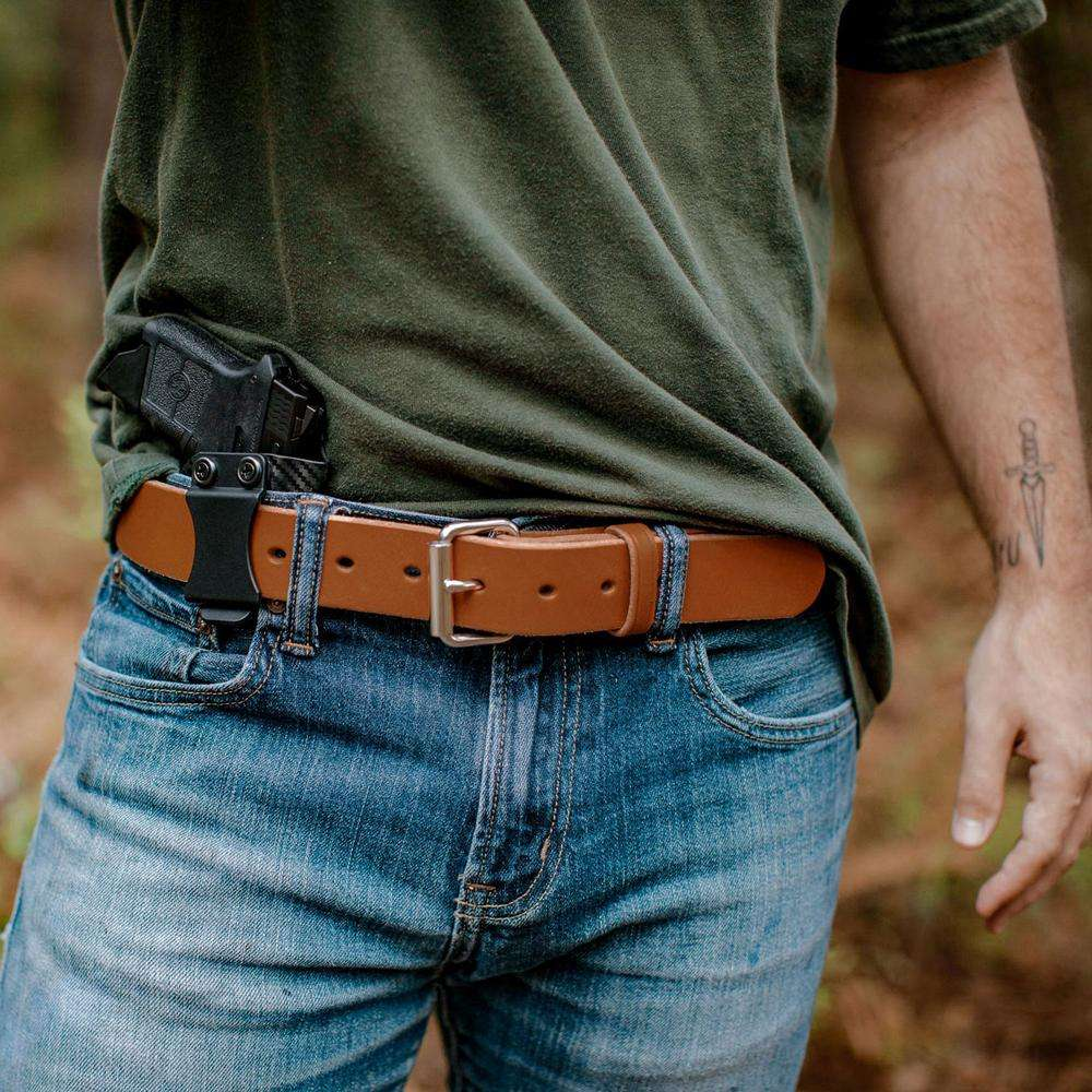 Hanks Gunner Belt - Hanks USA Made CCW Gun Belts - Oakwood