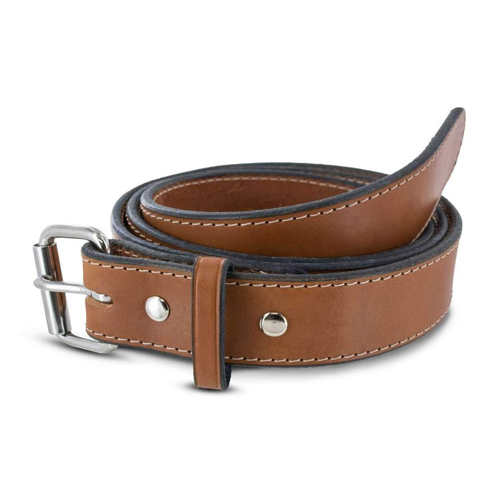 Hanks Gunner Stitched - Hanks USA Made CCW Gun Belts Oak