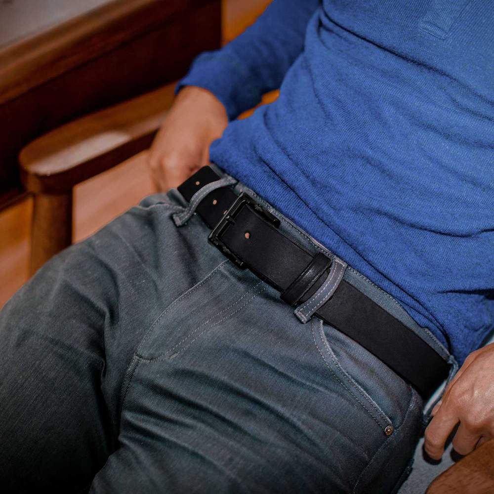Usa Made Work Belt Never Break - Black