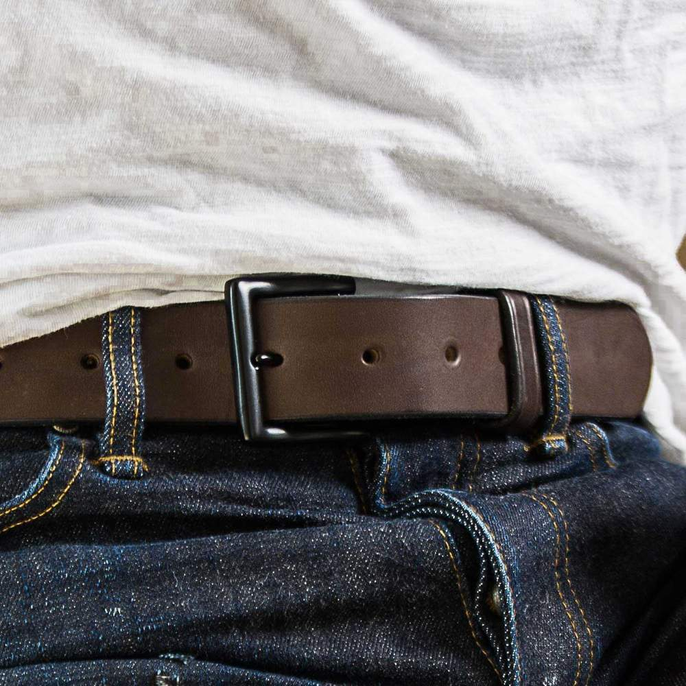 Hanks Everyday USA Made Work Belt - Brown