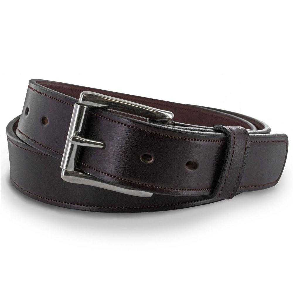 """Amish-made Mens USA Genuine Leather Belts 1 1//2/"""" 36 38 40 42 44 46 48 50 52 54+"""