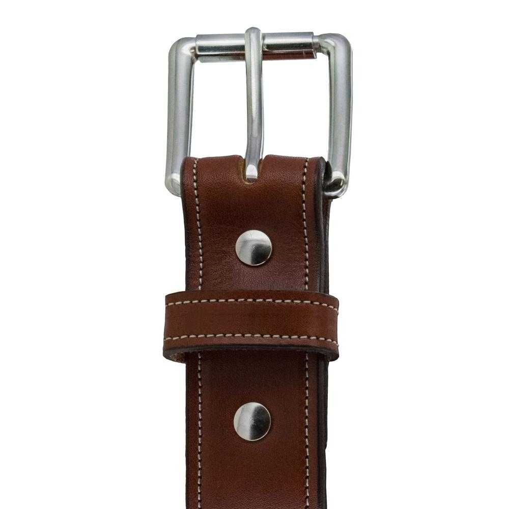 Hanks Belts Premium Bridle Leather Canyon belt in Oak.