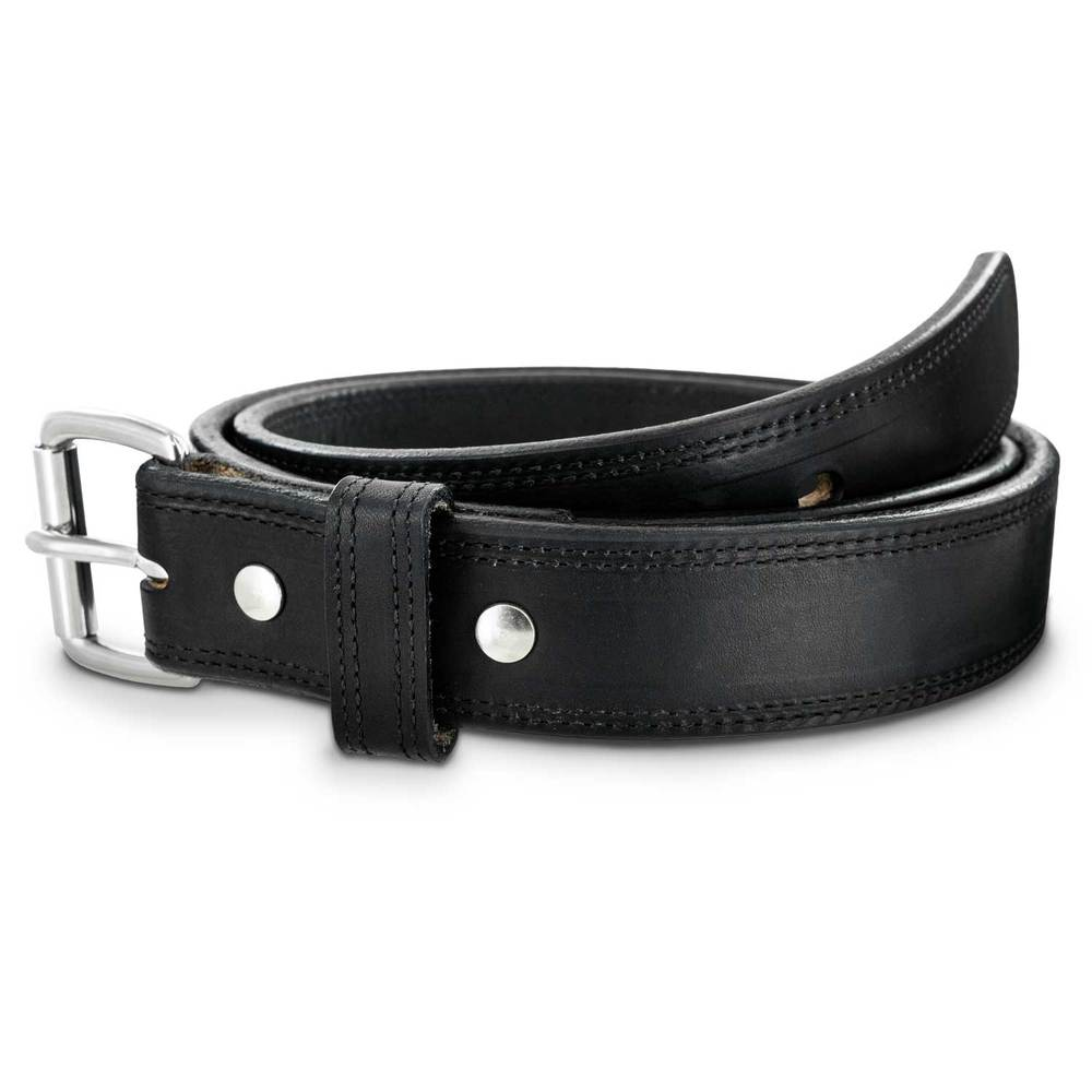 Hanks Old World Harness Belt Stitched - Black