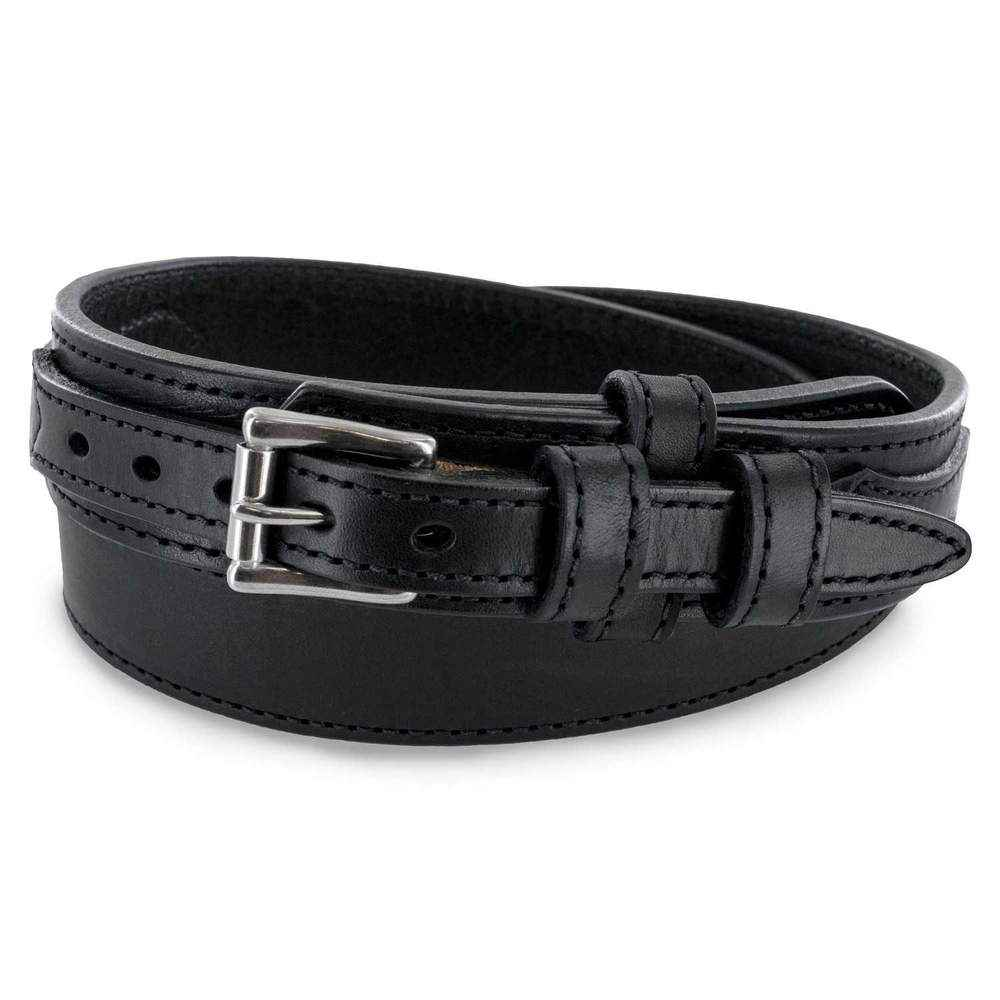 Hanks Belts Ranger Style Gun Belt in Black