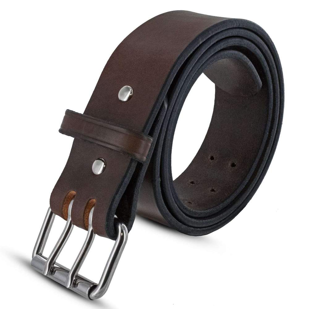 "Hanks Marshall 2"" CCW Belt - Hanks USA Made CCW Gun Belts In Brown"