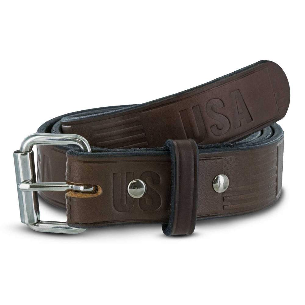 Hanks Gunner Freedom - Hanks USA Made CCW Gun Belts in Brown