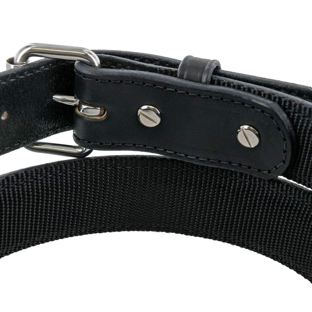 Hanks Kydex Reinforced Gun Belt removable buckle In Black