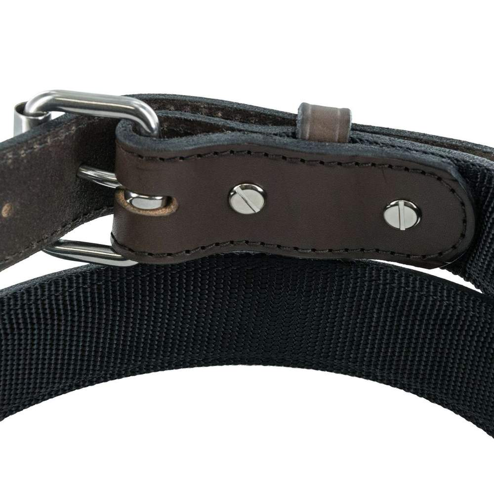 Hanks Kydex Reinforced Gun Belt removable buckle In Brown