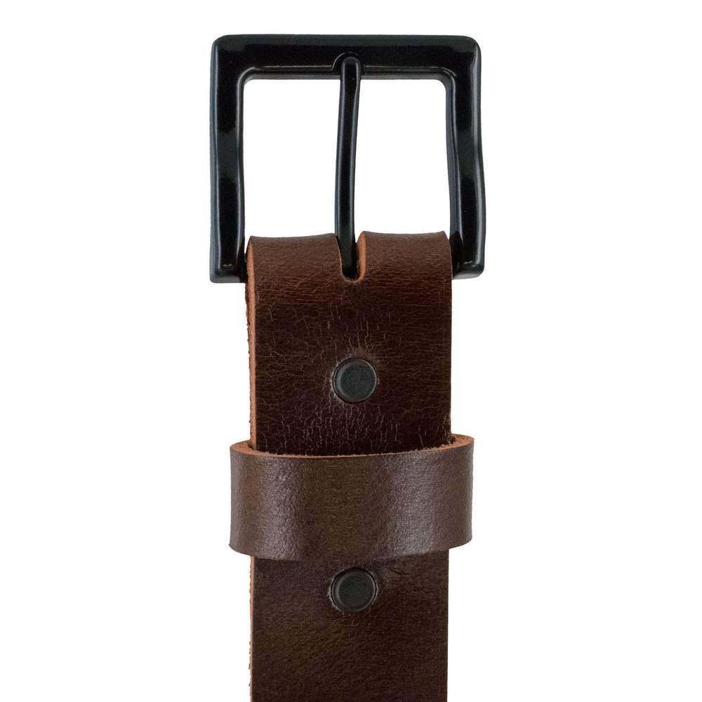 Hanks T-Bone Casual Belt in Brown