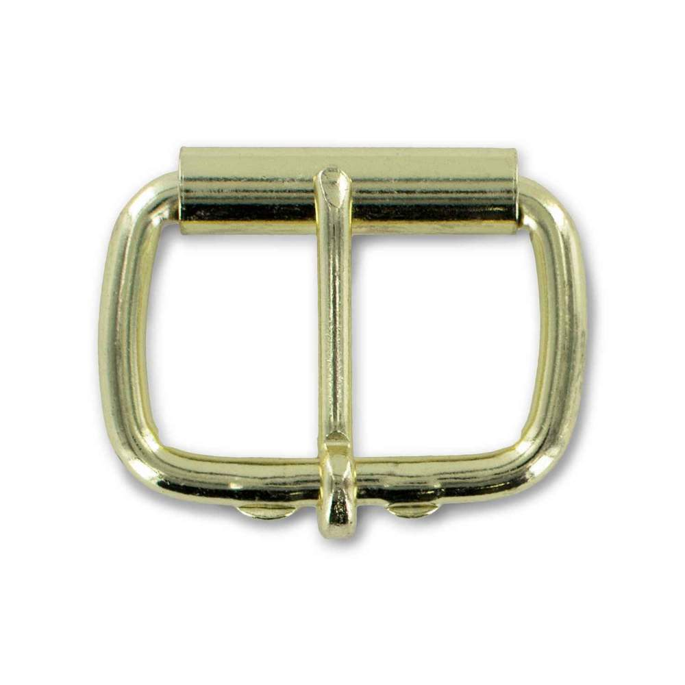 "Hanks 1 1/2"" Brass Roller Buckle - Hanks USA Made CCW Gun Belts Global"