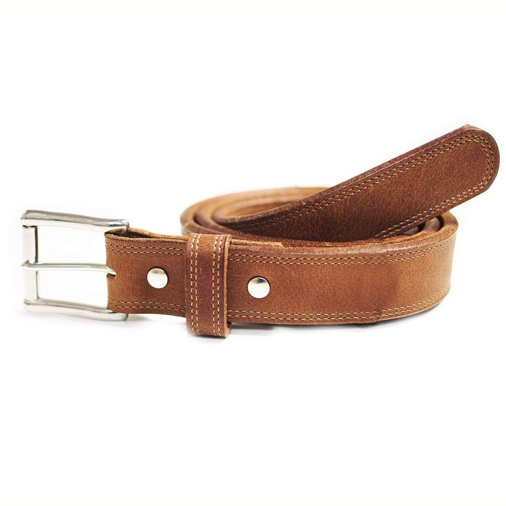 Double Bison Belt - Peanut