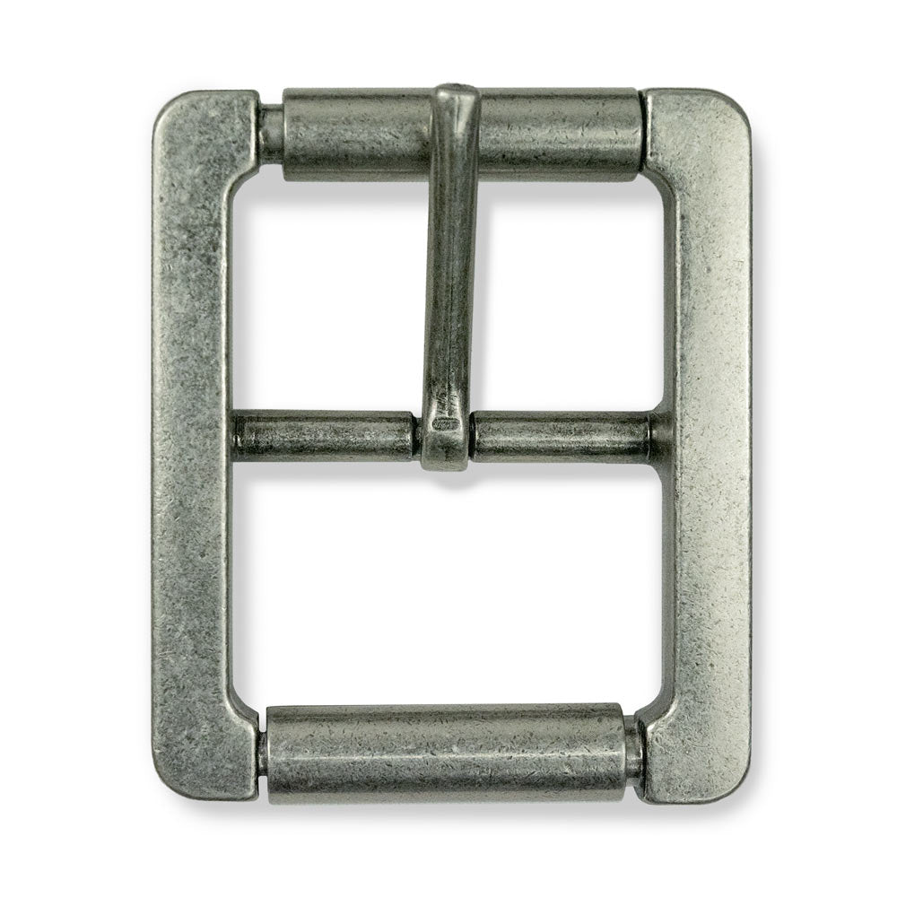 Hanks Double Roller Buckle - Nickel