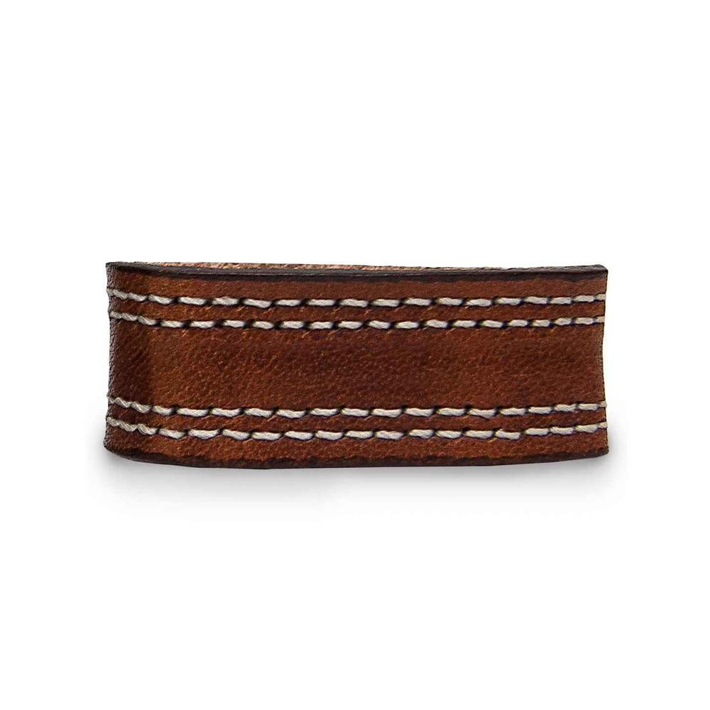 Extra Belt Keepers for Premium Double Leather Belts - Brown