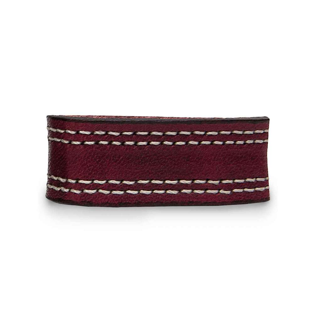 Extra Belt Keepers for Premium Double Leather Belts - Cherrywood