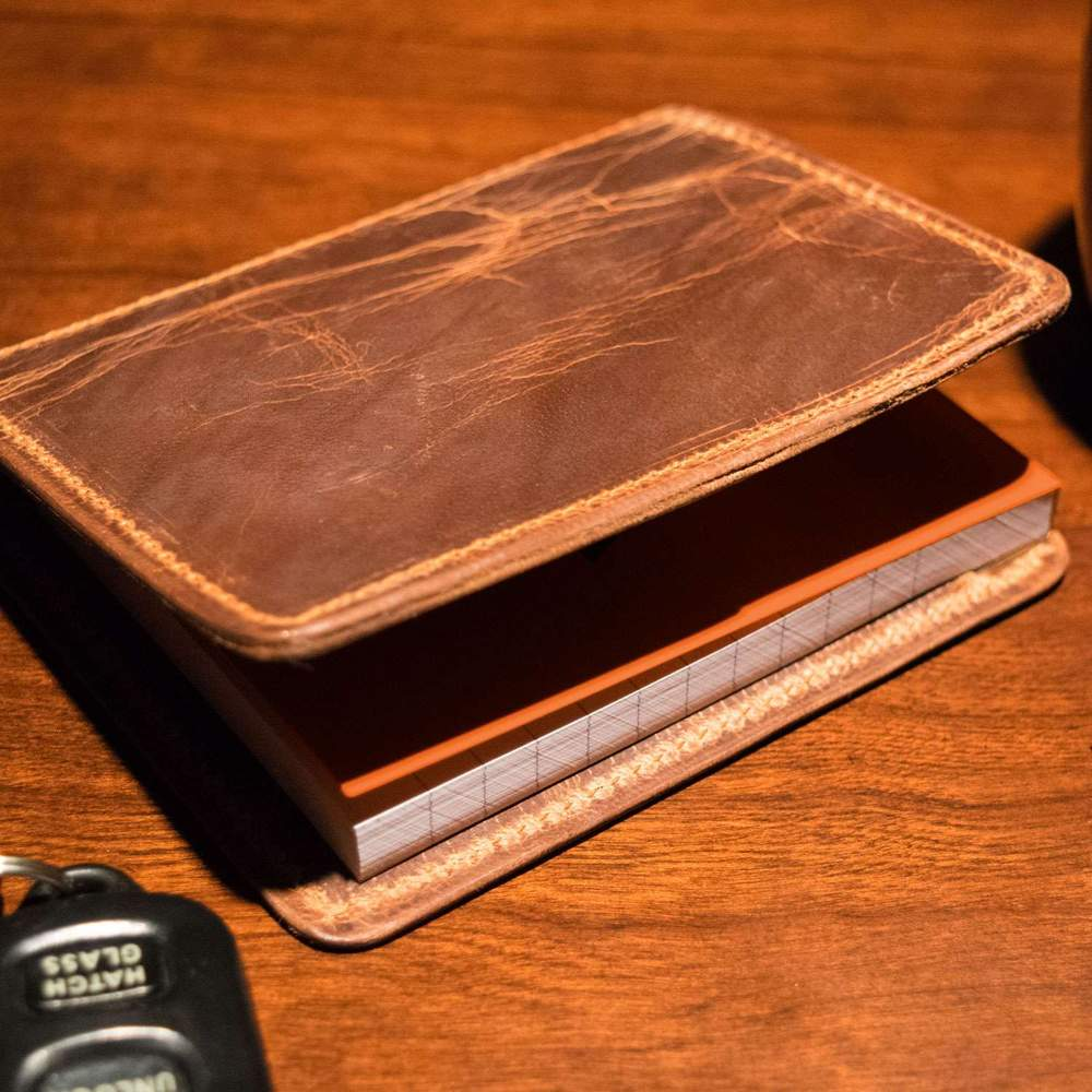 Hanks Wallet Notesman Vintage Brown