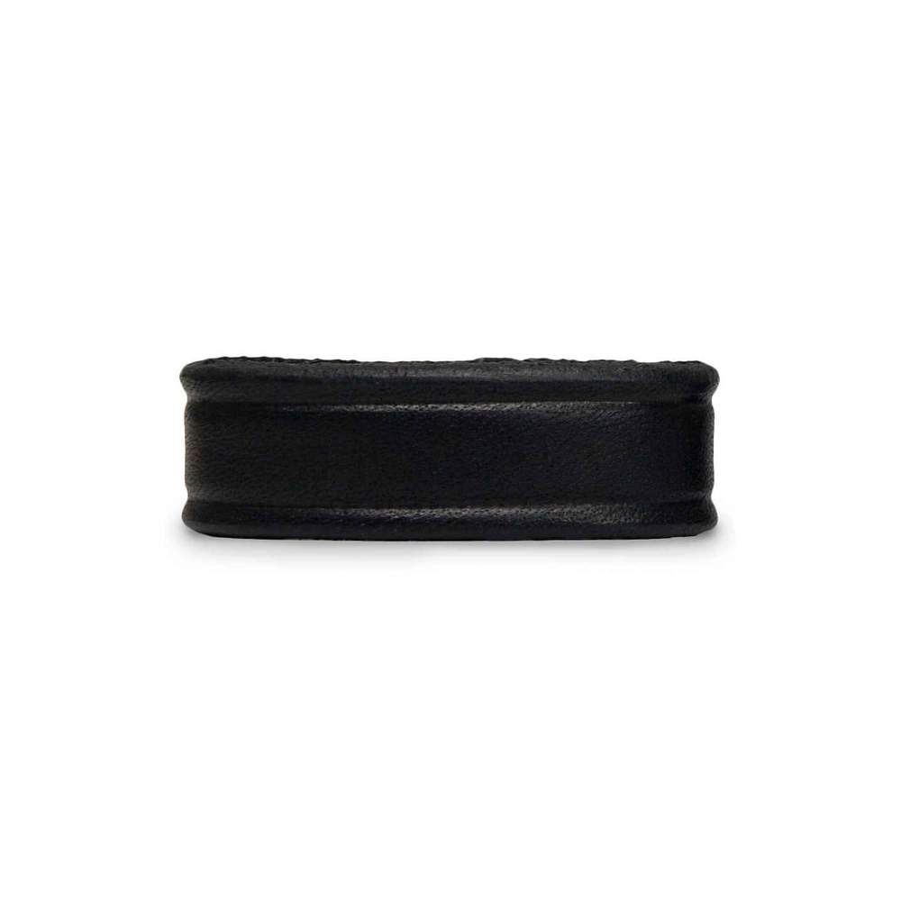 "Hanks 1 1/4"" Wide Belt Keeper in Black. Fits all 1 1/4"" wide belts."
