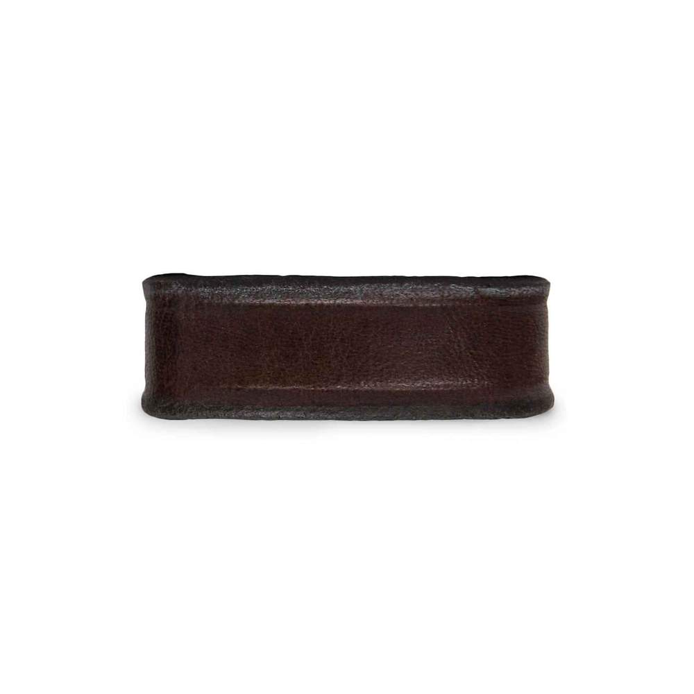 "Hanks 1 1/4"" Wide Belt Keeper in Brown. Fits all 1 1/4"" wide belts."