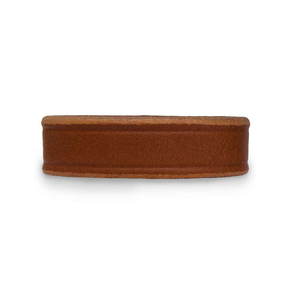 "Hanks Extra Belt Keepers for 1 1/2"" Wide Belts in Natural."
