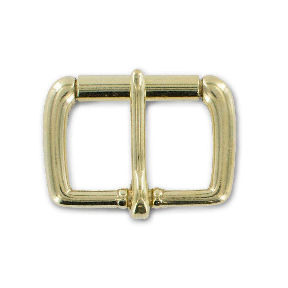 "Solid Brass 1 1/2"" Roller Buckle"