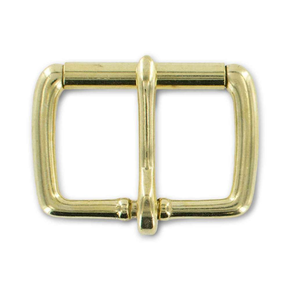 "Solid Brass 1 3/4"" Roller Buckle"