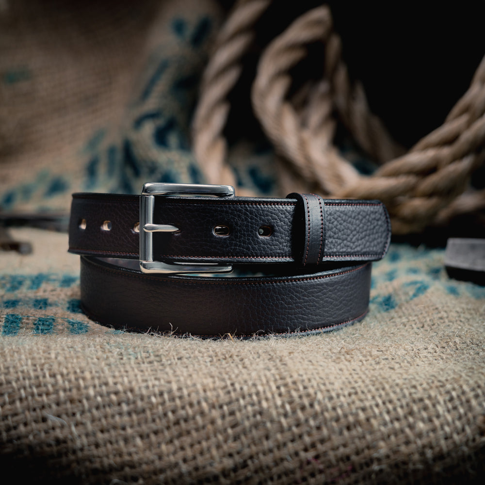 The Tuscan - Deluxe Embossed Lined Belt
