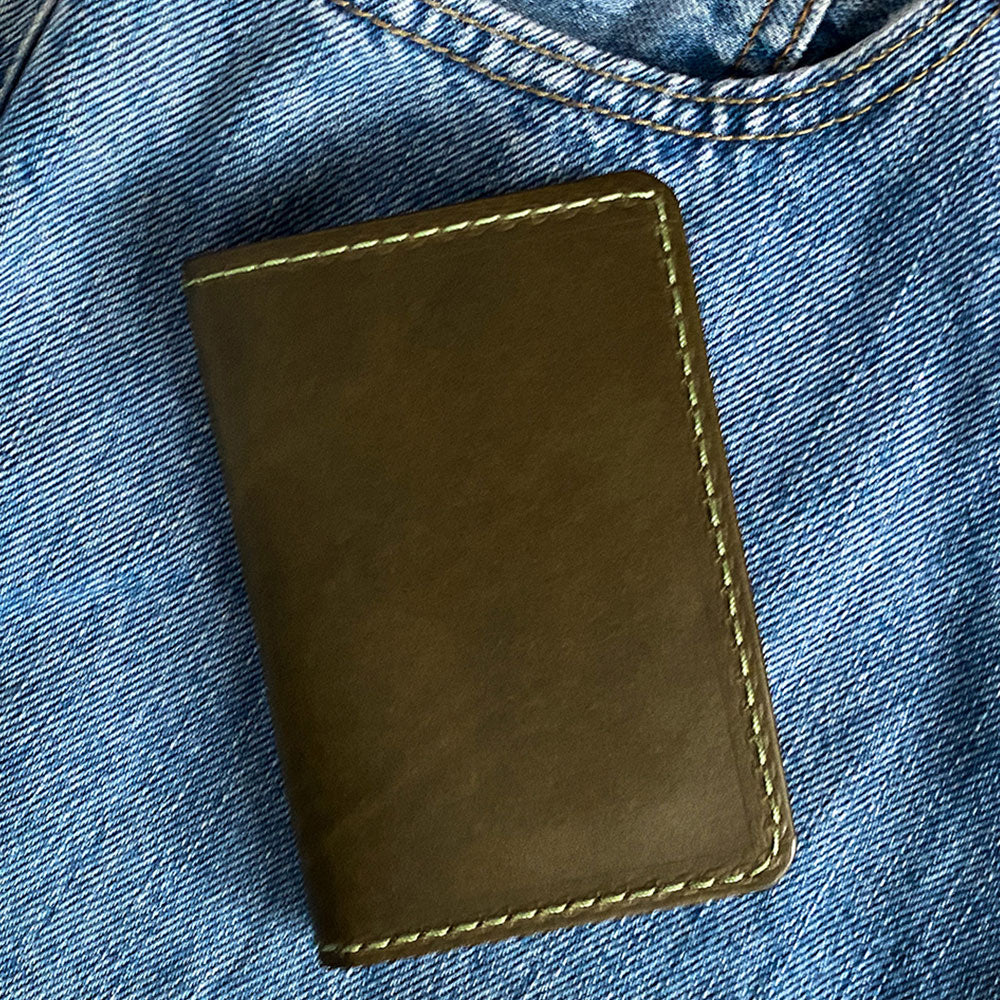Usa Made Leather Wallet