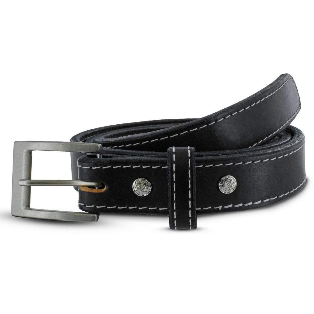 Women's Bonnie CCW Gun Belt - Black White Stitching