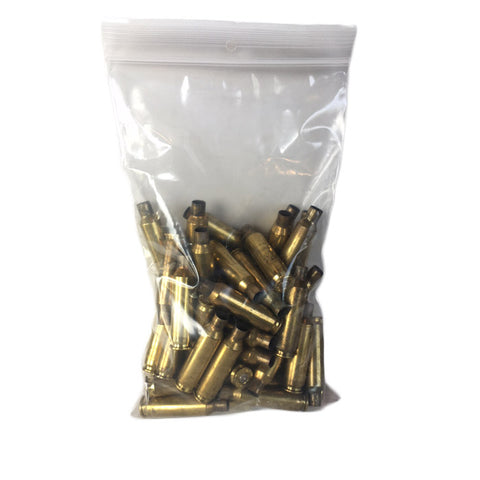 Processed .223 Nickel plated brass. Ready to load! 100-ct