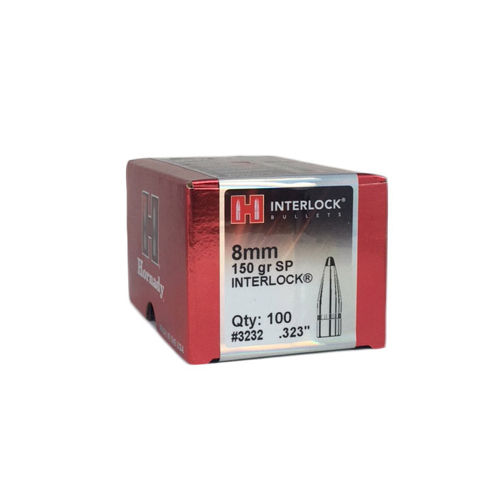 Hornady 8mm 150g SP Interlock