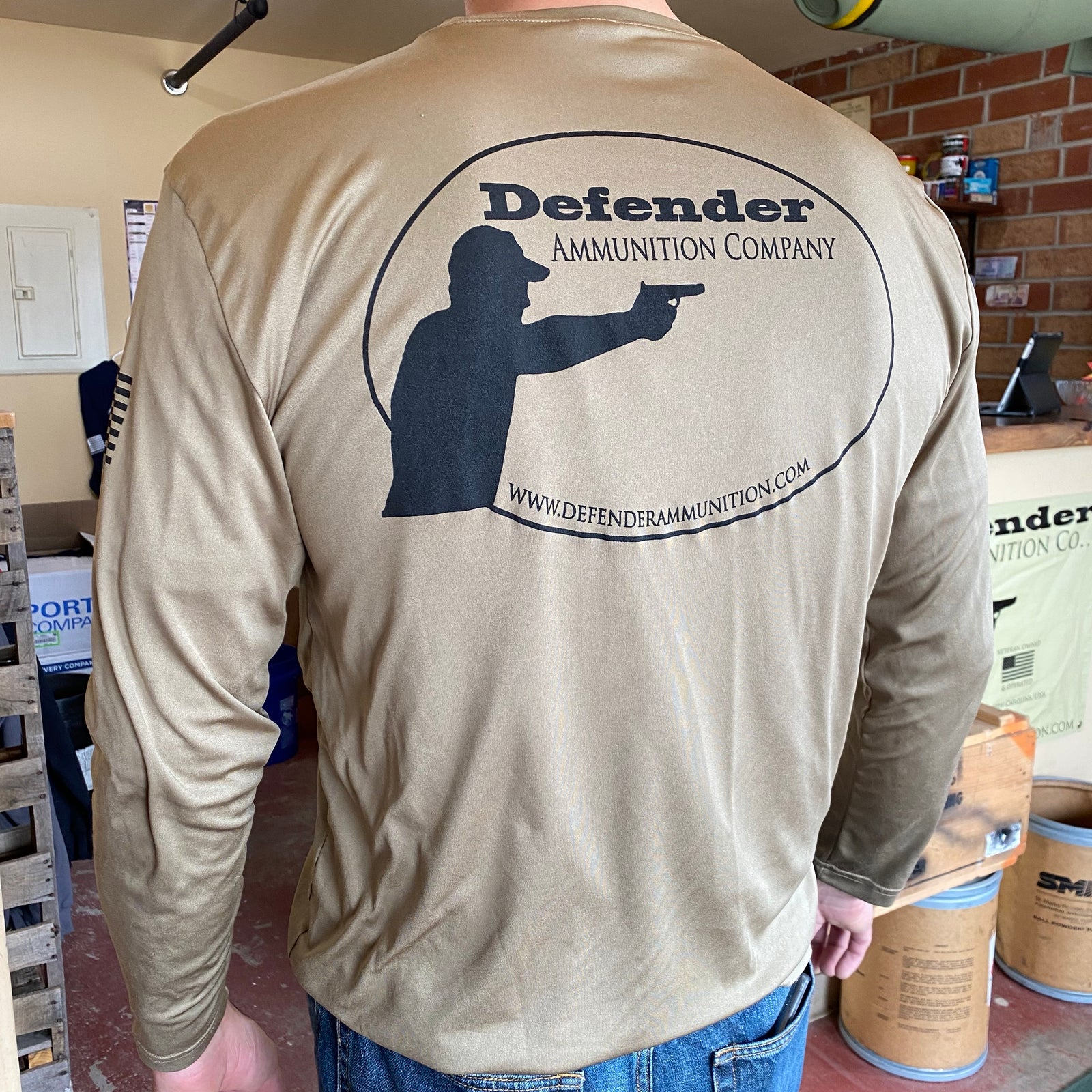 Defender Long Sleeve Competitor Tee