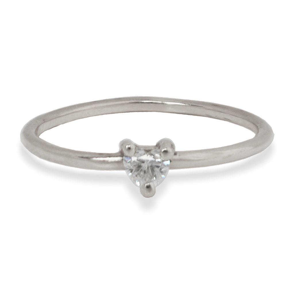 Sweet Heart Diamond Ring