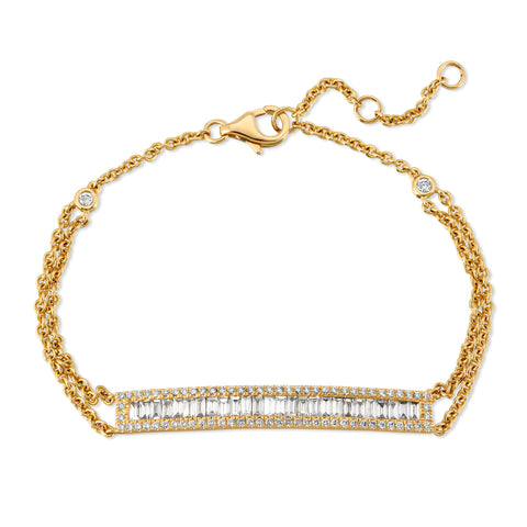 Marisol Gold Cluster Necklace