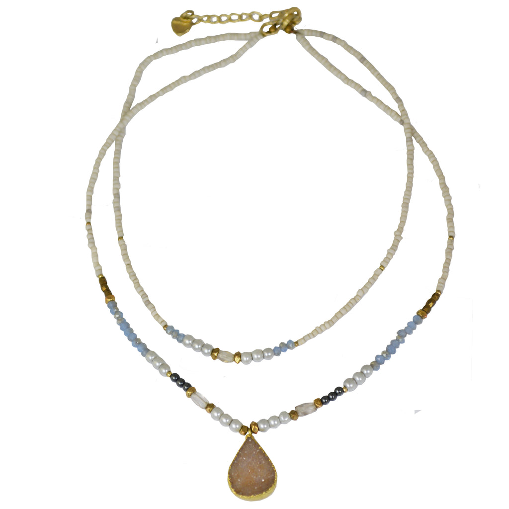 DRUZY CHOKER NECKLACE
