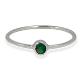 BEZEL GEMSTONE RING