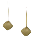 Hanging Square Earrings