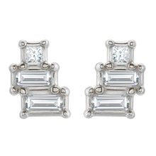 Load image into Gallery viewer, Geometric Earring Studs (Pair)