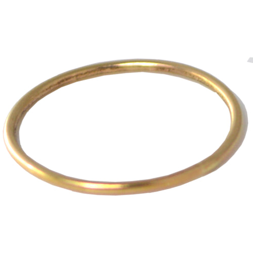 Gold Stacking Midi Ring