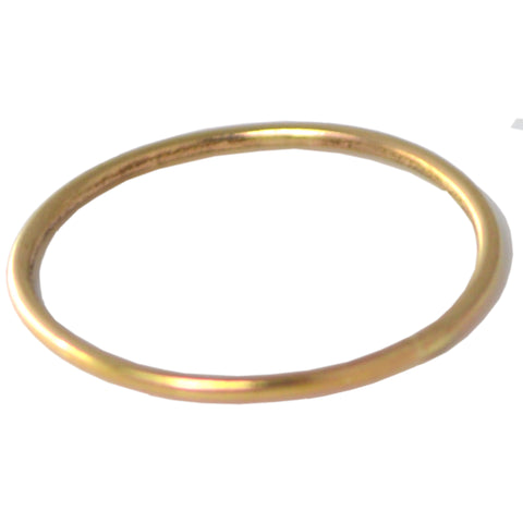 GOLD TWIST STACKING MIDI RING