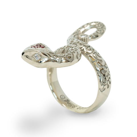 ENCHANTRESS SNAKE RING