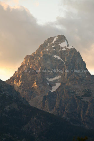 Grand Tetons Peak
