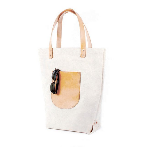 Materials and Process Canvas Market Tote