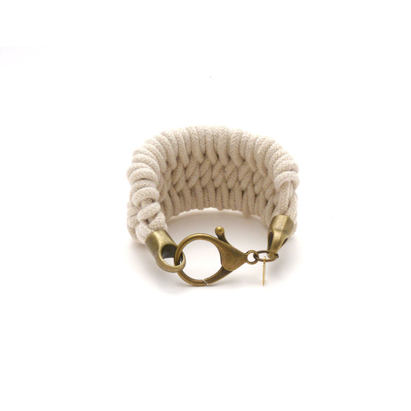 hand woven nautical rope bracelet