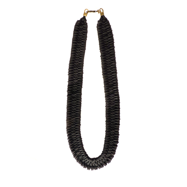 Leather Estero Hand Woven Necklace