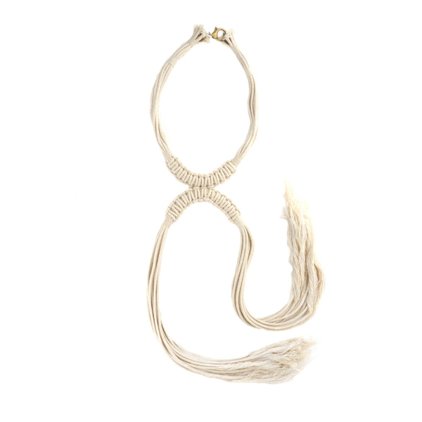 MODERN DRAPERY Crescent Necklace