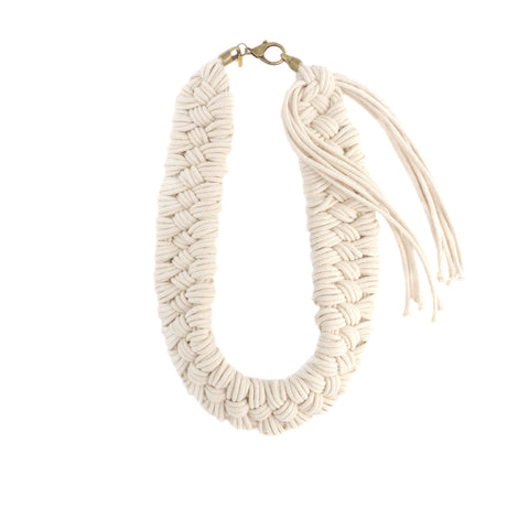 Reyes Hand Woven Necklace