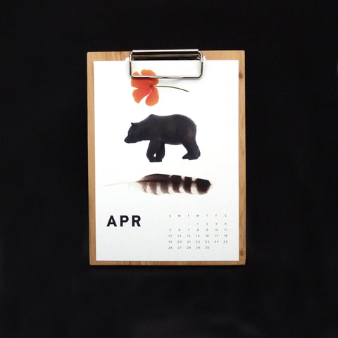 THESE THREE THINGS WOOD WALL CALENDAR