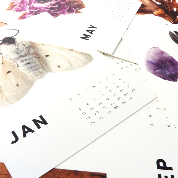 THESE THREE THINGS BRASS EASEL CALENDAR